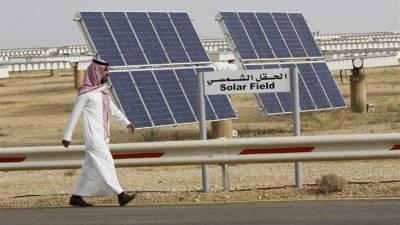 سعودی عرب میں شمسی توانائی کے 7 منصوبوں پر کام شروع کرنے کا اعلان