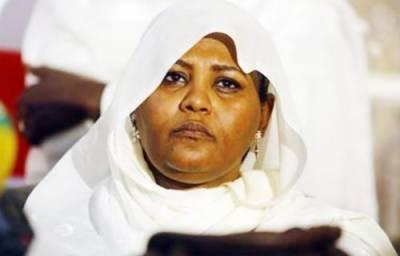 سوڈانی اپوزیشن لیڈرمریم المہدی کوایک ہفتہ قید کی سزاسنادی گئی