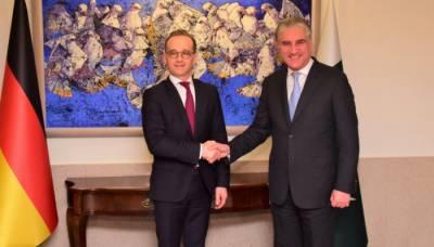 پاکستان افغان امن عمل میں ہر ممکن مدد فراہم کر رہا ہے، جرمن وزیر خارجہ
