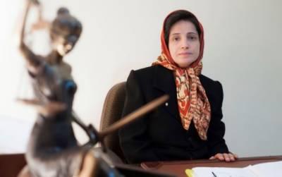 ایران میں انسانی حقوق کی وکیل کو 38سال قید، 148کوڑوں کی سزا سنادی گئی