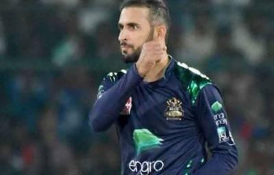 کوئٹہ گلیڈی ایٹرز کے فواد احمدکا گیند لگنے سے دانت ٹو ٹ گیا