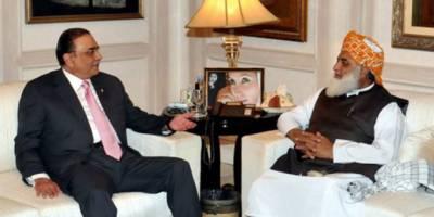 حکومت کیخلاف نیا محاذ،زرداری ،فضل الرحمن کی اہم ملاقات کا ایجنڈا سامنے آگیا