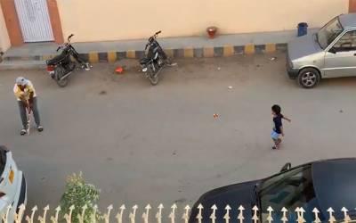 سرفراز احمد کی اپنے بیٹے کیساتھ کرکٹ کھیلنے کی ویڈیو سوشل میڈیا پر وائرل