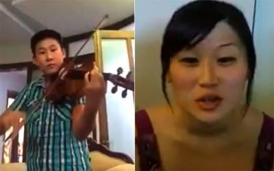 یوم پاکستان کے موقع پر چینی شہری بھی پیش پیش ، قومی ترانہ گایا اور بجایا بھی