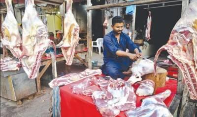 پشاور میں گوشت کی خریدو فروخت پر جاری ہفتہ وار ناغہ ختم کردیا گیا