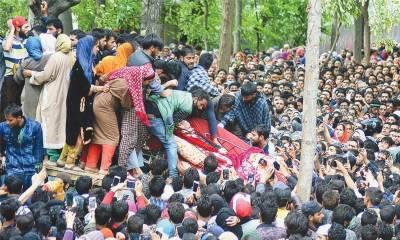 بھارتی مظالم نے کشمیر میں تعلیم یافتہ افراد کو ہتھیار اٹھانے پر مجبور کر دیا، رپورٹ