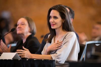 خواتین کے حقوق پامال کرکے دنیا کے کسی بھی حصے میں امن و استحکام نہیں آسکتا ہے:انجلینا جولی