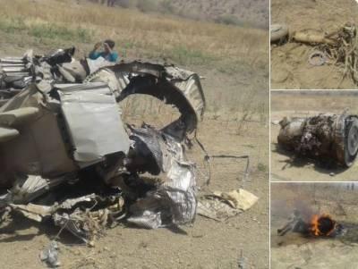 بھارت کا مگ27 طیارہ گرکر تباہ ہوگیا