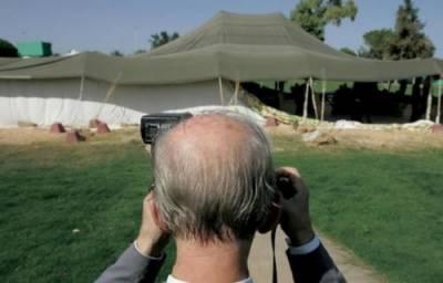 قذافی کا خیمہ نیلامی کے لئے پیش، 37ہزار دینار کی پیشکش