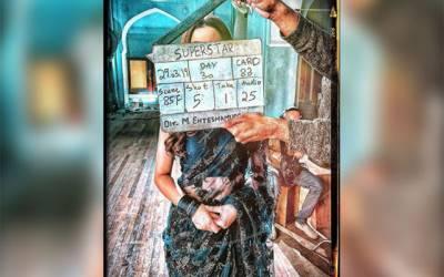 ماہرہ اور بلال اشرف کی نئی فلم سپر سٹار کی شوٹنگ کی تصاویر سوشل میڈیا پر وائرل