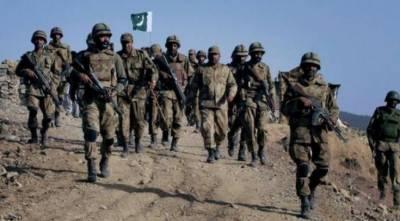پاک فوج کا ایل او سی پر بھارتی فوج کو منہ توڑ جواب ،7 بھارتی فوجیوں ہلاک، 19 زخمی