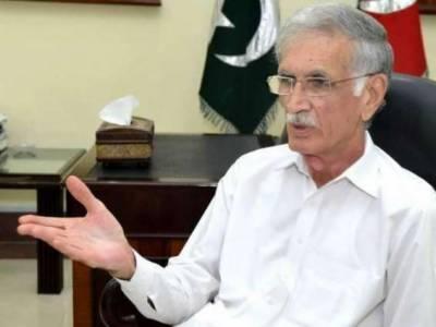 بی آر ٹی پشاور کے ڈیزائن میں تبدیلی کی وجہ سے تاخیر ہوئی ، پرویز خٹک