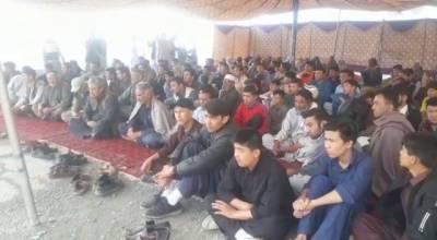 سانحہ ہزار گنجی، ہزارہ برادری کا دھرنا جاری