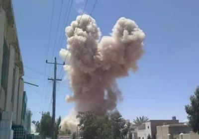 کابل میں دو دستی بم دھماکوں سے ایک شخص ہلاک،6 زخمی