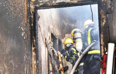 سعودی عرب کے شہر جدہ میں آگ نے تباہی مچا دی
