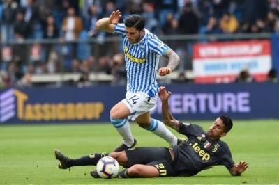 اٹالین سرے اے فٹ بال لیگ، دفاعی چیمپئن یووینٹس کو سپال کے ہاتھوں شکست