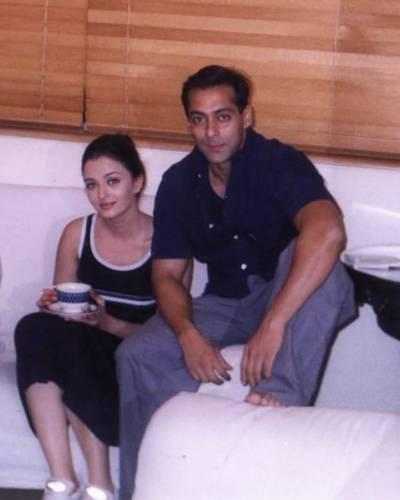سابق پریمی جوڑی سلمان خان اور ایشوریا رائے کی پرانی تصویر وائرل ہوگئی