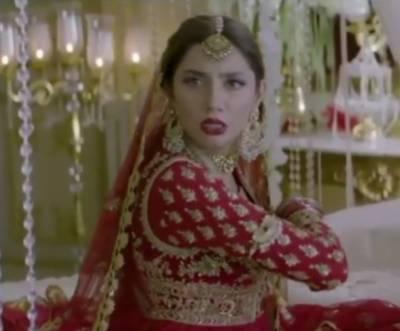 """ماہرہ خان کی """"پرے ہٹ لو"""" میں پہلی جھلک وائرل"""