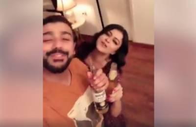 ماریہ واسطی کی نشے میں دھت ویڈیو سوشل میڈیا پر وائرل