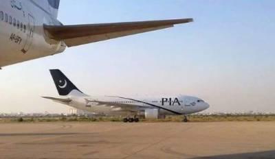 پی آئی اے کی کراچی سے اسلام آباد جانے والی پرواز حادثے سے بال بال بچ گئی