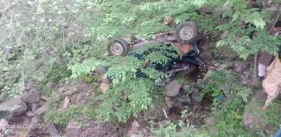 مظفر آباد، جیپ کے کھائی میں گرنے سے 5 افراد جاں بحق