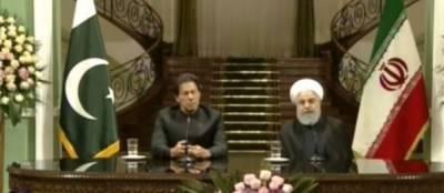 دہشتگردی کے معاملات دونوں ممالک میں خلیج پیدا کرسکتے ہیں،عمران خان کی ایرانی صدر کیساتھ مشترکہ پریس کانفرنس