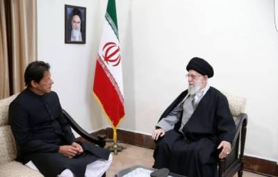 وزیراعظم کی آیت اللہ خامنہ ای سے ملاقات، اہم امور پر تبادلہ خیال