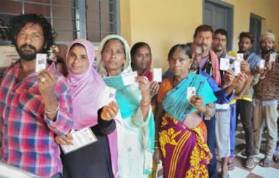 انڈین انتخابات کا سب سے بڑا مرحلہ: 117 نشستوں پر ووٹنگ جاری