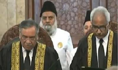جسٹس آصف سعید کھوسہ نے قاضی محمد امین سے بطور سپریم کورٹ جج حلف اٹھالیا