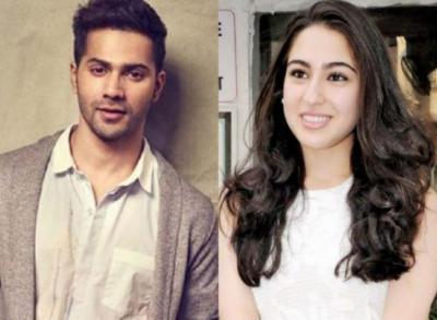سارا علی خان اپنی نئی فلم کولی نمبر ون میں ورن دھون کیساتھ جلوہ گر ہوں گی