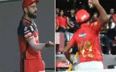 آئی پی ایل : ایشون ، ویرات کوہلی کے درمیان جھگڑا ، شائقین حیران رہ گئے