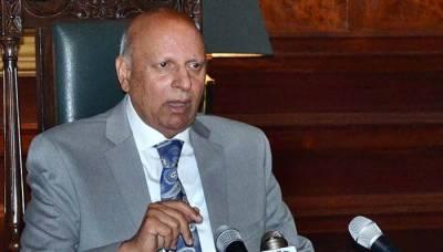 استعفے سے متعلق خبریں سفیدجھوٹ ہے:گورنر پنجاب چودھری سرور