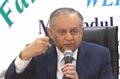 مہنگائی میں اضافے کے سوال پر عبدالرازق داؤد پریس کانفرنس ختم کر کے چلے گئے
