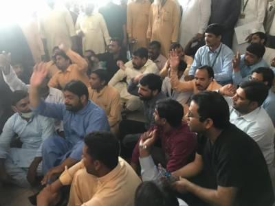 پنجاب میں ینگ ڈاکٹرز کی ہڑتال تیسرے روز بھی جاری