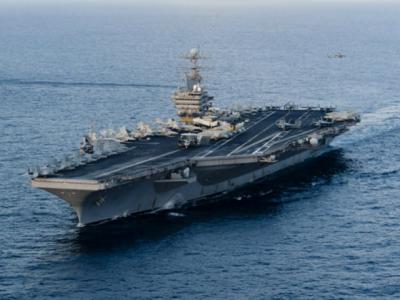 امریکہ نے ایران کو خبردار کرتے ہوئے جنگی بحری بیڑا روانہ کر دیا