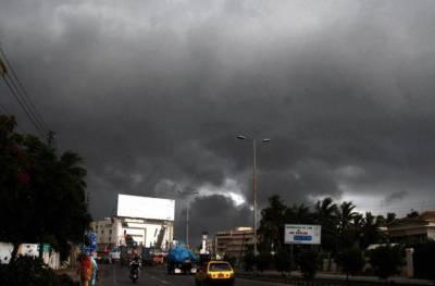کراچی میں جمعرات اور جمعے کو ہلکی بارش کا امکان