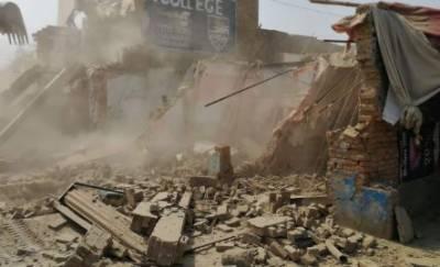 اسلام آباد کی ضلعی انتظامیہ اور سی ڈی اے کا تجاوزات کے خلاف آپریشن