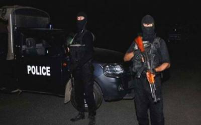 لاہور : افغان خاتون سمیت تین دہشتگردوں کو حراست میں لے لیا گیا