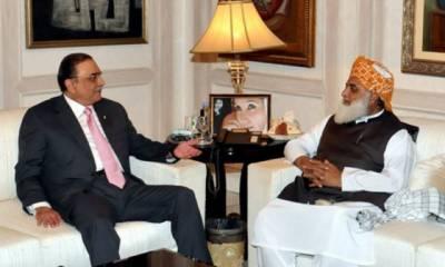 زرداری اور فضل الرحمان کا حکومت کو ٹف ٹائم دینے کا فیصلہ