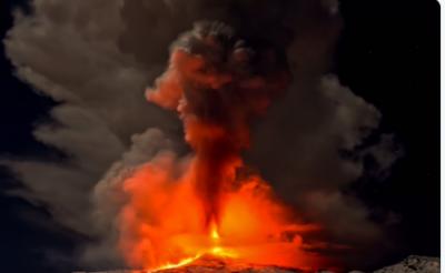 جاپان، کوہ ہاکونے پر زلزلے کے جھٹکے اور زیر زمین آتش فشانی