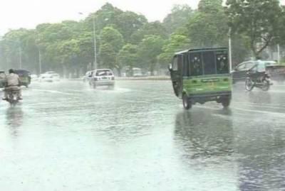 محکمہ موسمیات نے آج ملک کے مختلف علاقوں میں بارش کی پیشگوئی کردی