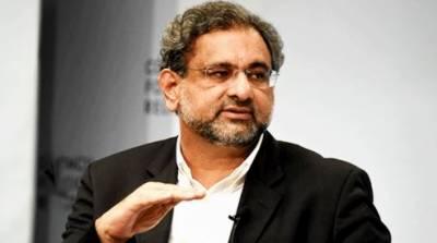 نیب سیاست دانوں کو توڑنے کے لیے بنایا گیا، شاہد خاقان عباسی