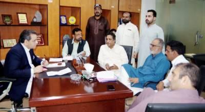 صوبائی وزیر تعلیم پنجاب ڈاکٹر مراد راس کا پی ٹی سی بی کے دفتر میں کھُلی کچہری کا انعقاد