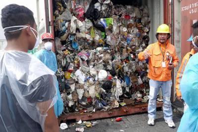 فلپائنی صدر کا کئی ٹن کچرا کینیڈا واپس بھجوانے کا حکم