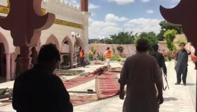 کوئٹہ: پشتون آباد کی مسجد میں دھماکا، ایک شخص جاں بحق، 13 زخمی