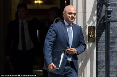 پاکستانی نژاد ساجد جاوید بھی برطانوی وزیراعظم کی دوڑ میں شامل ہوگئے