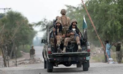 شمالی وزیرستان، پاک فوج کی گاڑی پر فائرنگ اور دھماکا، 1 سپاہی شہید