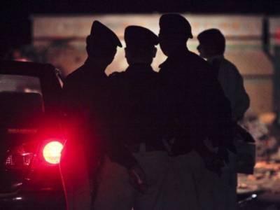 شکار پور، پولیس اور ڈاکوؤں کے درمیان مقابلہ، ایس ایچ او اور اے ایس آئی شہید