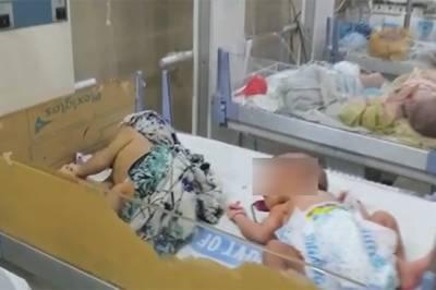 ساہیوال: چلڈرن وارڈ میں اے سی خراب ہونے سے 8 بچے جاں بحق