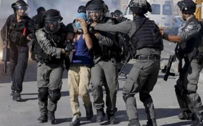 مسجد اقصیٰ کے قریب اسرائیلی پولیس سے جھڑپ میں 45 فلسطینی زخمی ، سات گرفتار